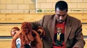 Kanye West wearing Ralph Lauren